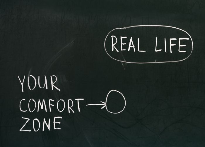 Push Yourself Beyond Your Comfort Zone